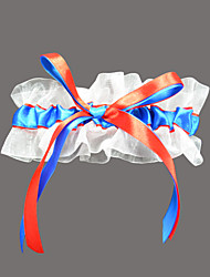 Garter Satin Organza Multi-color