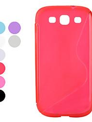орнамент мягкий чехол для Samsung Galaxy S3 i9300