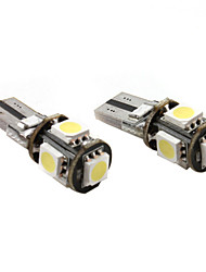 t10 5 * 5050 SMD weiß LED KFZ Signallicht CANbus