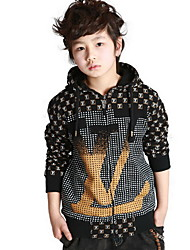 Boys Thicken Double-layer Cardigan Jacket