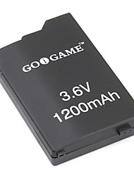 Replacement Battery Pack for PSP (3.6V, 1200mAh)