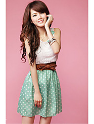 Women's DoDesign Ladies' Contrast Color Sleeveless Dress