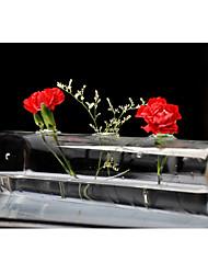 mesa centrais cubóide de vidro em forma deocrations vasta mesa