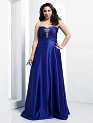TS Couture® Prom / Formal Evening / Military Ball Dress - Elegant Plus Size / Petite A-line / Princess Strapless / Sweetheart Floor-lengthStretch