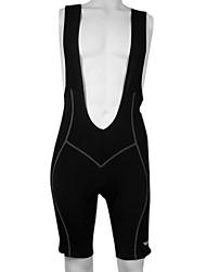 KOOPLUS® Fahrradträgerhosen Herrn Fahhrad Atmungsaktiv / Rasche Trocknung / Reflexstreiffen / 3D PadBib - Shorts/Kurze radhose MIT