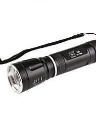 requin ss-7084 3 modes Cree XR-E Q5 LED Flashlight souriant (240lm, 1x18650)