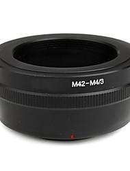про M42 объектив для микро 4/3 адаптера электронной p3 электронной pl2 E-P2 E-PL1 E-P1 g1 g2 g3 GF2 GH2 GF3