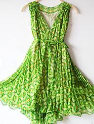 Bohemia V Neck Elegant Beach Dress