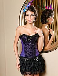 cetim fechamento busk strapless frente corsets shapewear ocasião especial