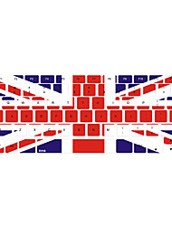 "Union Jack Pattern Keyboard Cover for 13"" 15"" Macbook Pro"
