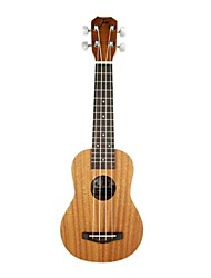Tom - (tom211) ukulele soprano mogno com bag / picaretas