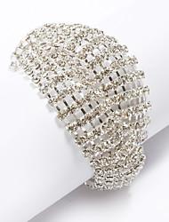 pulseira de strass lindo / tênis