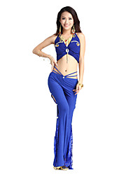 Marvelous Dancewear Cystal Cotton Belly Dance Outfit For Ladies More Colors