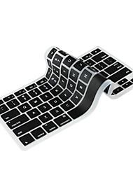 universele anti-stof toetsenbord hoes voor MacBook 13,3-inch pro, 13,3-inch lucht-en 15.4-inch pro (zwart)