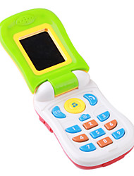 Baby Educational Musical Cell Phone Toy with Sound Effects(3xAG3)
