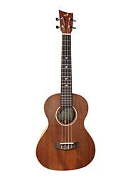 shaka - (Latn-1m) sólido mogno tenor ukulele Havaí com caso show