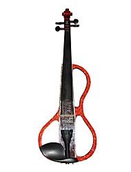 Cozart - (ML024-C4) 4/4 Czechic cristal incrustada violino elétrico com Case / Bow / Rosin / Cabo / Bateria / Extra Cristal / Glue