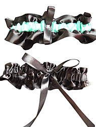 Garter Polyester Ribbon Black
