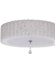 MAISHANG® Modern Semi Flush Mount with 3 Lights in Floral Pattern