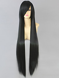 Cosplay Wigs Final Fantasy Lulu Black Long Anime/ Video Games Cosplay Wigs 100 CM Heat Resistant Fiber Female