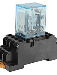 MY4N-j 5a 24v elektromagnetische Relais-schwarz und blau