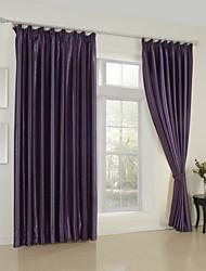 modernos dois painéis botânica floral quarto roxo cortinas cortinas de rayon