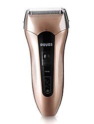 Povos recarregável Shaver Foil Dupla lâmina impermeável