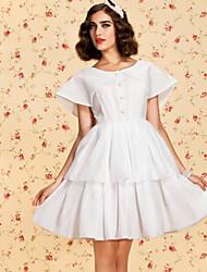 TS VINTAGE Two-tier Swing Dress