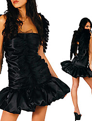 Sexy Adult Women's Dark Angel Halloween Costume(1 Pieces)