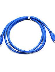 norme usb 3.0 am h à câble (1,5 m)