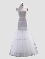 Polyester A-Line/Medium Fullness Full-Length Wedding Slip Style/Petticoat