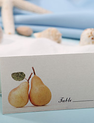 Place Cards and Holders Place Card - Golden Pears (Set of 12)