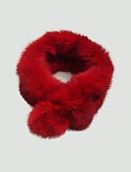 Rabbit Fur Circle Scarf  (More Colors)