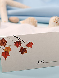 Card paper Place Cards 12 PVC Bag