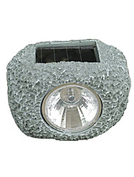 Solar Rock Spot Light Garden Lawn Decor Lamp