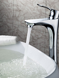Sprinkle® - par LightInTheBox - contemporain en laiton massif lavabo robinet chromé (hauteur)