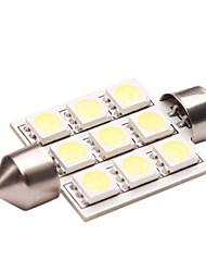Double Peak LED Car Light (1.5W, Lumen (LM) 110, Farbtemperatur 6000K, 12V, mit 1 LEDs, White Light)