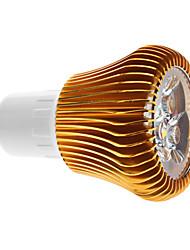 6W GU10 LED Spot Lampen MR16 3 COB 600 lm Warmes Weiß Dimmbar AC 220-240 V