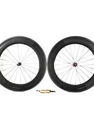 Supernova - 88 mm de fibra de carbono tubulares juegos de ruedas de bicicleta de carretera con NPP Series