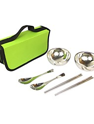 Outdoor 6-Units Cookware Set (Pouch Color Assorted)