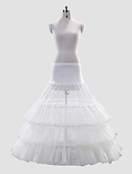 Polyester A-Line/Full Gown 2 Tier Full-Length Wedding Slip Style/Petticoat