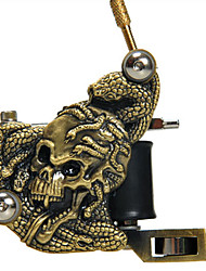 9 Maschinen Tattoo-Set mit LCD Power + Freeshipping
