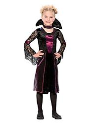 vamptessa criança traje da menina (5-7 anos)