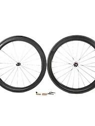 Supernova - 60 mm de fibra de carbono tubulares juegos de ruedas de bicicleta de carretera con NPP Series
