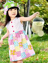 Mode schönen Mädchen Sommerkleid