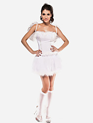 Women's Sexy White Angel Halloween Costumes