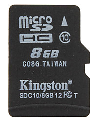8GB Kingston Klasse 10 Micro SD / TF SDHC-Speicherkarte