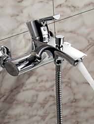 Sprinkle® - por LightInTheBox - torneira banheira contemporânea sólida latão (acabamento cromado)
