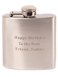 Gift Groomsman Personalized Stainless Steel 3-oz Flask