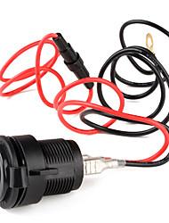 Vehicle Car DIY Cigarette Lighter Socket (12V, 15A)